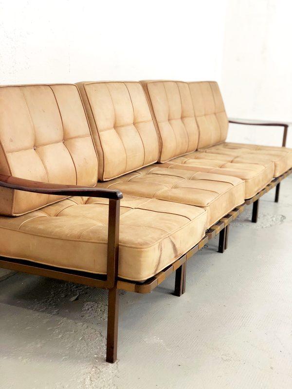 divano in pelle osvaldo borsani